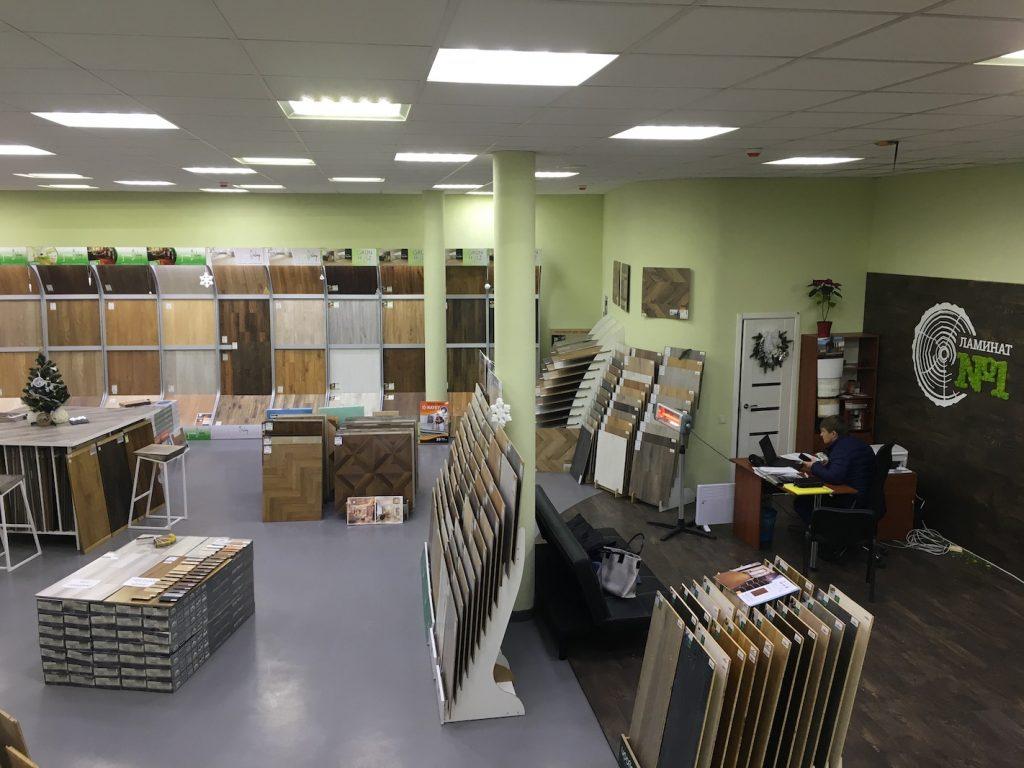 изображение магазина для каталога ламинат