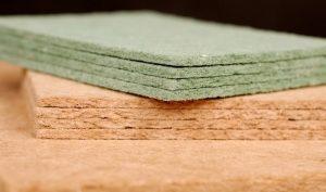 фото древесно-волокнистая подложка под ламинат