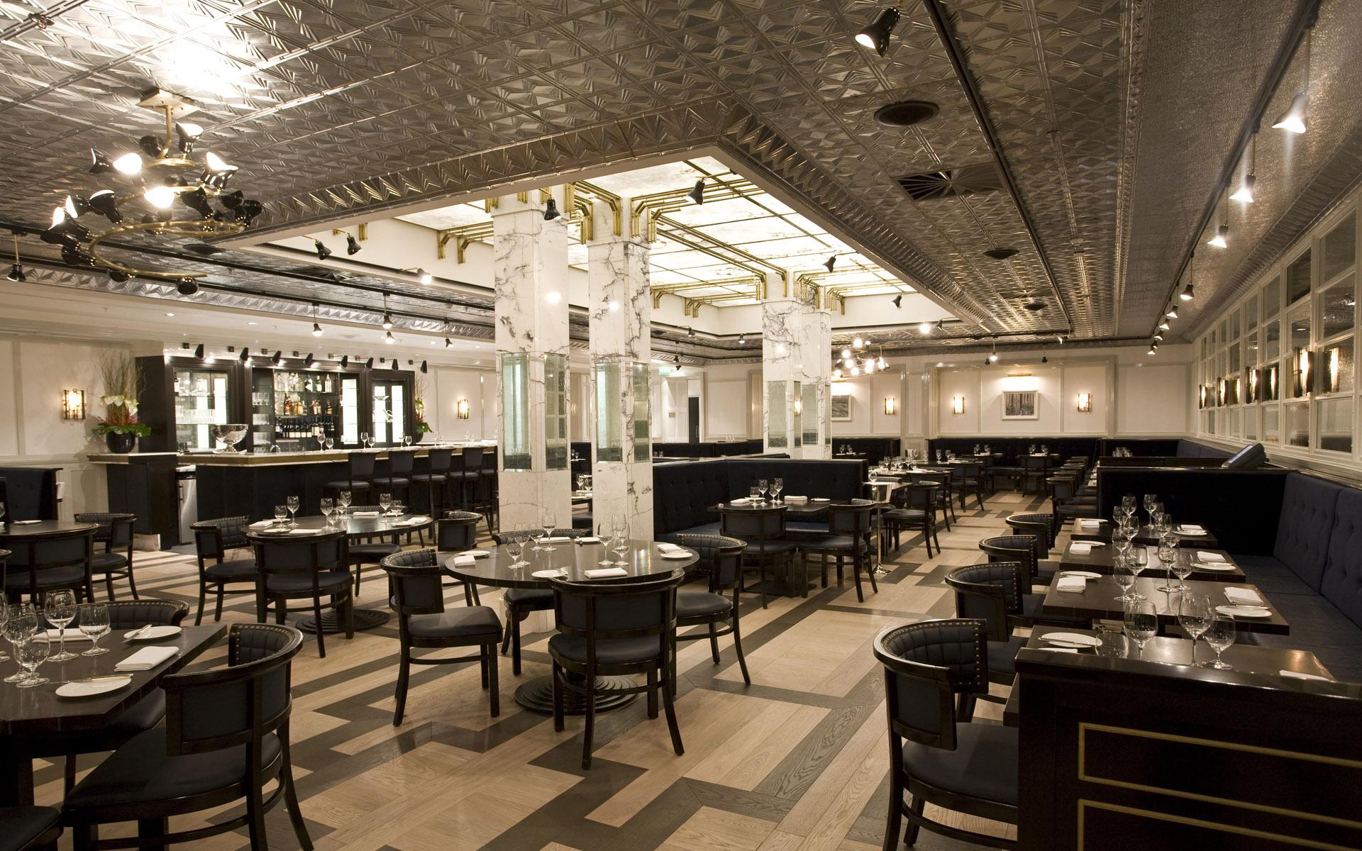 изображение SPC полы в ресторане